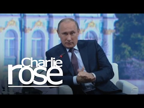 Vladimir Putin: 'Why Is There a Crisis in Ukraine'? (June 19, 2015) | Charlie Rose