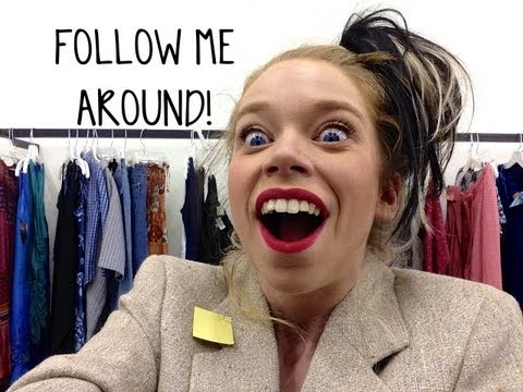 FOLLOW ME AROUND- THRIFT STORE ADVENTURE