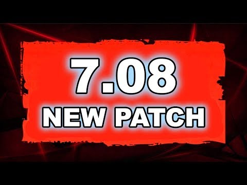 Dota 2 NEW 7.08 PATCH - Main Changes!
