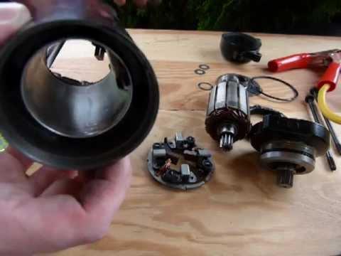 How do starter motors work youtube for How a starter motor works