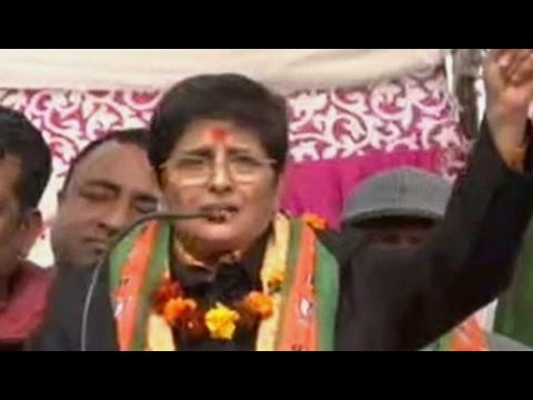 Barack Obama visit used by BJP's Kiran Bedi as selling point in campaign