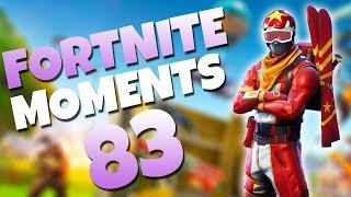 ONE IN A MILLION PREDICTION!! (LUCKIEST SHOT EVER) | Fortnite Daily Funny and WTF Moments Ep. 83