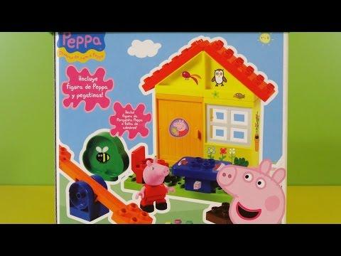 Peppa Pig Casa con Balancín Juego de Bloques