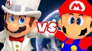Super Mario Odyssey Vs. 64 and Sunshine (REVIEW/COMPARISON)