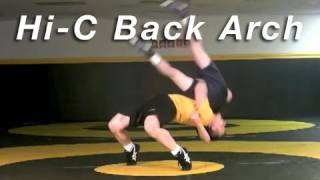 Wrestling Moves KOLAT.COM High Crotch to Back Arch