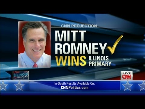 romney wins  in chicago 