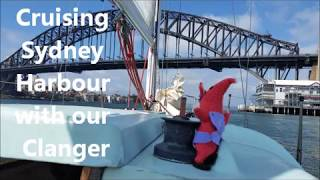 Sydney Harbour cruise with our Clanger