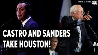 Sanders and Castro take the Houston Debate