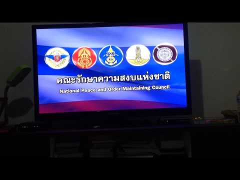Military coup improves TV in Thailand May 2014