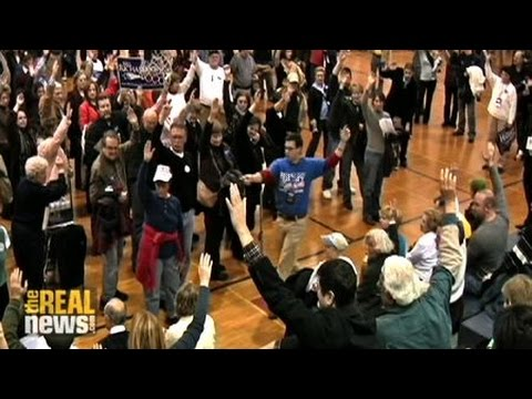 Inside a caucus: Iowa 2008