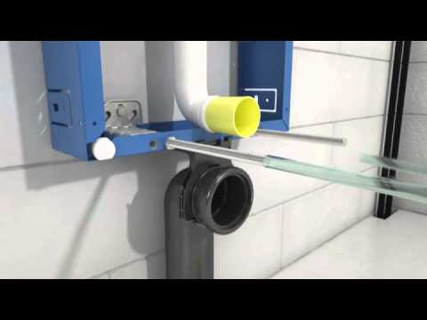 kombifix wand wc element preiswert bei youtube. Black Bedroom Furniture Sets. Home Design Ideas