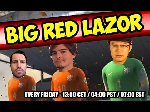 Big Red Lazor - 2014 FIFA WORLD CUP CHAMPIONS!