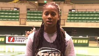 Jacinda Myers-Sanders - Student-Athlete of the Week