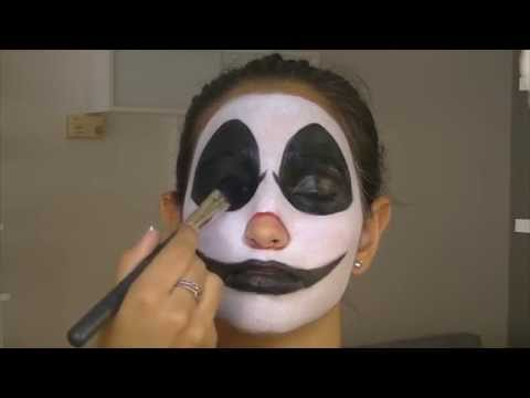 Maquillaje Halloween: Payaso diabólico | por Natalia Carballo
