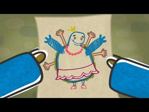 Новые развивающие мультфильмы - Малыши и Летающие звери - Сколько рук (26)