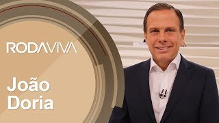 Roda Viva   João Doria   15/10/2018