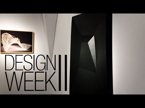 DESIGN WEEK PART II ¦ ARCHITECTURE ¦ EXHIBITION ¦ FASHION DESIGN ¦ VLOG