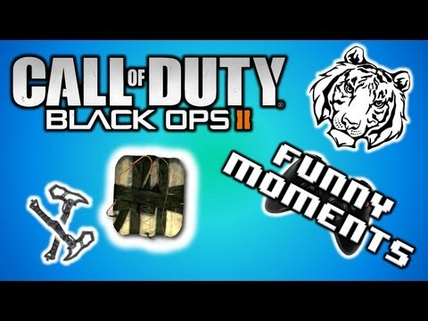 Black Ops 2 Funny Moments - Fails Edition!! (Epic Combat Axe, Pokeball Suicide, C4 Tard)