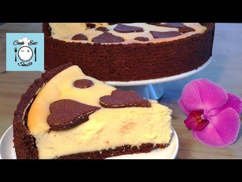 Творожно-шоколадный чизкейк. Russischer Zupfkuchen