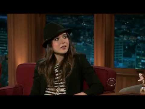 Ellen Page at the Late Late Show with Craig Ferguson, 6 April 2011