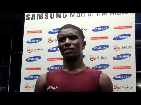 Post Match Interview: Bilal Mohammed (Qatar)