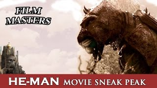 He-Man first look at Battle Cat from the new movie   Film Masters