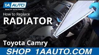 How to Replace Radiator 97-01 Toyota Camry