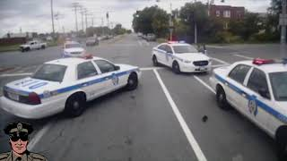 Shoot Out In Baltimore MD Bus Between Police And Suspect (CRAZY)