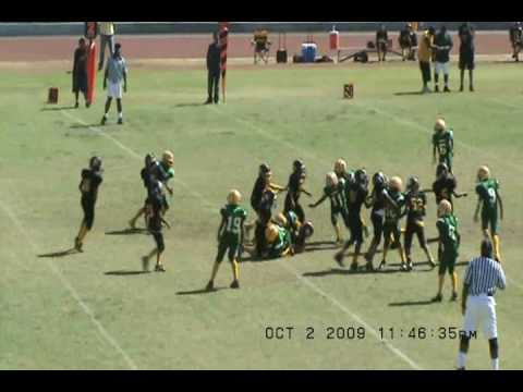 POMONA STEELERS CLINIC 2009(P-TOWN) VS LA DEMOS SYFL Video