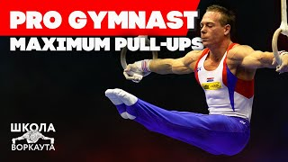 HOW MANY PULL-UPS GYMNAST CAN DO? GYMNASTICS WARM-UP!