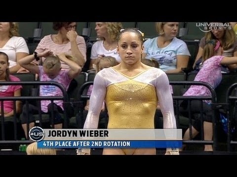 Jordyn Wieber at Nationals night 1 Vault