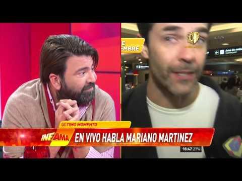 Mariano Martínez, enfurecido en Infama: Esto es una cama