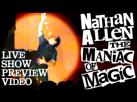 Nathan Allen, The Maniac of Magic ***NEW 2013 LIVE SHOW PREVIEW*** Iowa Magician / Iowa Comedian
