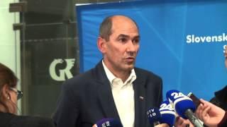 Janez Janša izjava na Svetu SDS