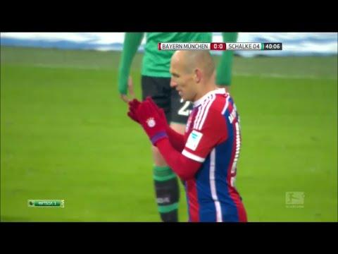 Arjen Robben vs FC Schalke 04 (Home) 1-15 HD 720p by Robben10i