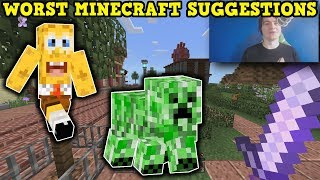 These Are THE WORST Minecraft Ideas EVER