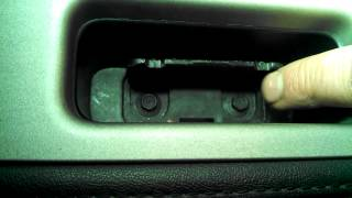 Door panel removal Lincoln Navigator 2007 - 2012 Remove Replace Install
