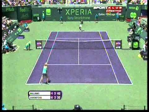 Serena Williams vs Maria Sharapova - WTA Masters Miami 2013. FINAL Highlights (bojan svitac)