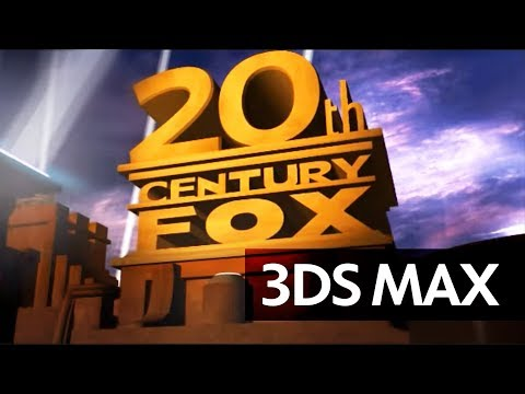 3ds Max: 20th Century Fox Intro - Full Hd, Optimized video