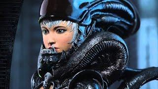 Aliens vs  Predator Full Game Movie All Cutscenes