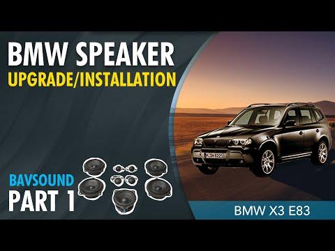 1/2: BMW X3 (E83) - Bavsound