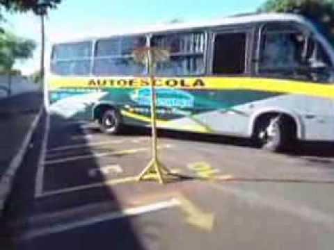 Baliza de Micro Ônibus ( CFC Liderança  )