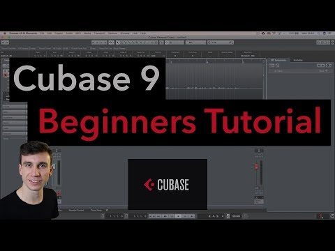 Cubase Beginner Tutorial - How To Use Cubase (Timestamps in description)
