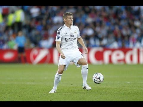 Тони Кроос первый выход на поле за Реал Мадрид 2014