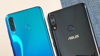 Huawei P30 Lite vs Asus Zenfone Max Pro M2 SpeedTest & Camera Comparison