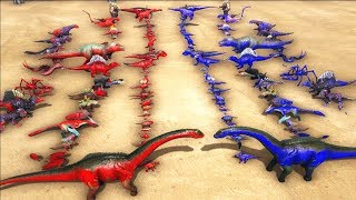 All Creatures VS All Creatures - ARK: Survival Evolved   Cantex