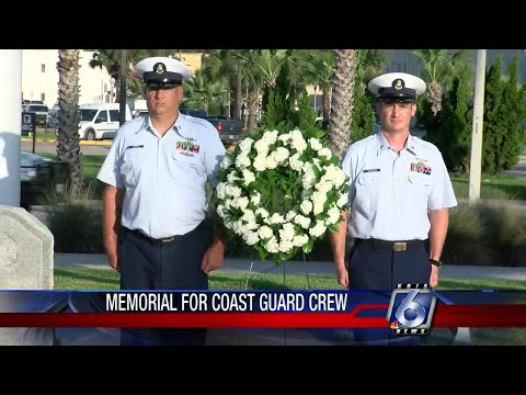 Coast Guard, family members honors aircrew lost in 1973 crash