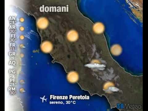 Meteo Italia a 3 giorni del 14/09/2011