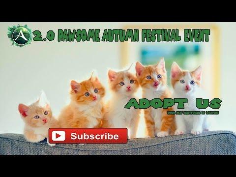 Archeage 2.0  Pawsome Autumn Festival Event