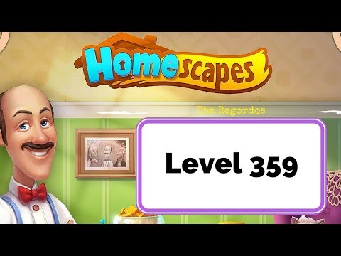 Homescapes Level 359 🏠 No Boosters
